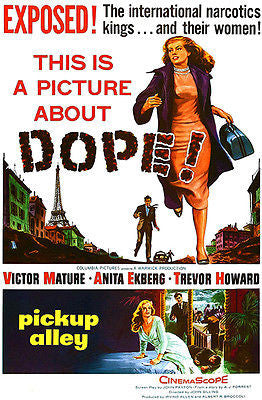 Pickup Alley - 1957 - Movie Poster
