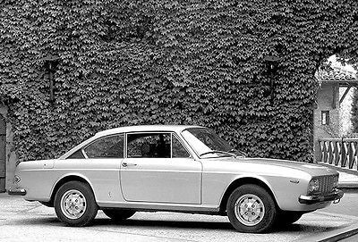 1971 Lancia 2000 Coupe - Promotional Advertising Poster