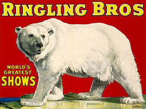 Ringling Bros World's Greatest Shows - Circus Show Poster