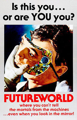 Futureworld - 1976 - Movie Poster
