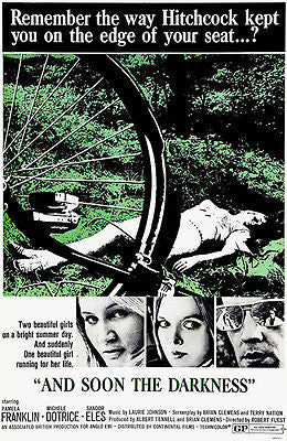 And Soon The Darkness - 1970 - Movie Poster