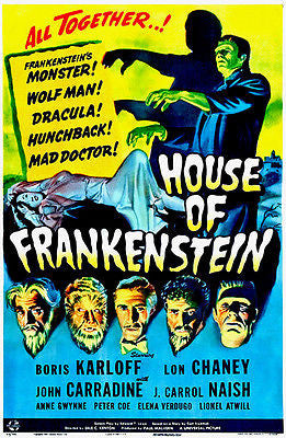 House of Frankenstein - 1944 - Movie Poster