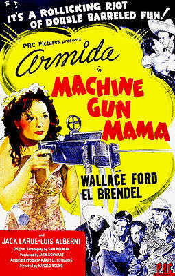 Machine Gun Mama - 1944 -  Movie Poster