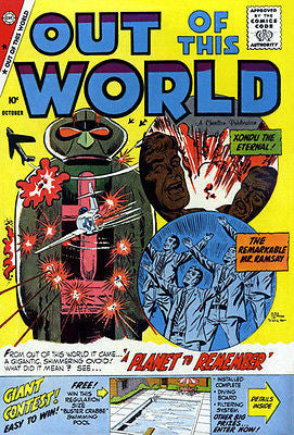 Out of This World #15 - October 1959 - Comic Book Cover Poster