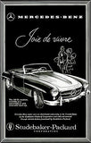 1958 Mercedes Benz 190 SL Roadster - Promotional Advertising Poster
