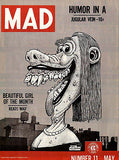 MAD Magazine #11 - May 1954 - Cover Poster