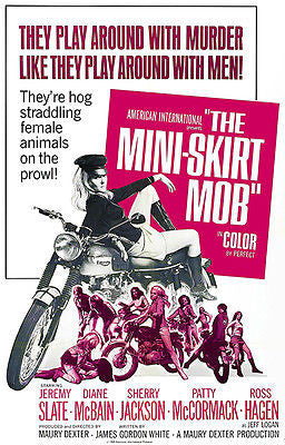 The Mini-Skirt Mob - 1968 - Movie Poster