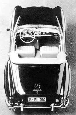 1955 Mercedes-Benz 190 SL - Promotional Photo Poster