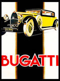1930's Bugatti - Promotional Advertising Poster