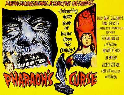Pharaoh's Curse - 1957 - Movie Poster