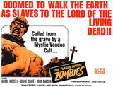 The Plague Of The Zombies - 1966 - Movie Poster