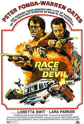 Race With The Devil - 1975 - Movie Poster