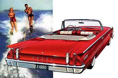 1960 Ford Edsel Convertible - Promotional Advertising Poster