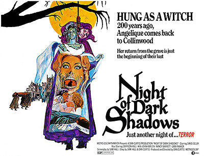 Night Of Dark Shadows - 1971 - Movie Poster