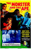 The Monster and the Ape - 1945 - Movie Poster