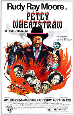 Petey Wheatstraw - 1977 - Movie Poster