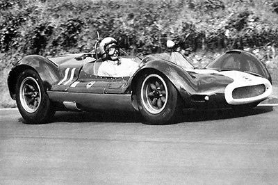 1964 Cooper T53 at Brands Hatch - Photo Poster