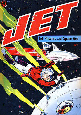 Jet Powers #1 - 1945 - Comic Book Cover Poster