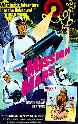 Mission Mars - 1968 - Movie Poster