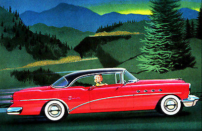 1954 Buick Roadmaster - Promotional Advertising Poster