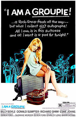 I Am A Groupie! - 1970 - Movie Poster
