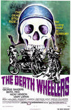 The Death Wheelers - 1973 - Movie Poster