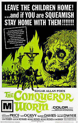 The Conqueror Worm - 1968 - Movie Poster