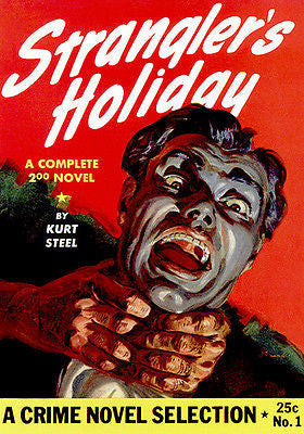 Strangler's Holiday - 1942 - Pulp Novel Cover Poster