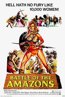Battle of the Amazons - 1973 - Movie Poster