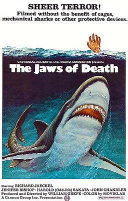 The Jaws Of Death - 1976 - Movie Poster Mug