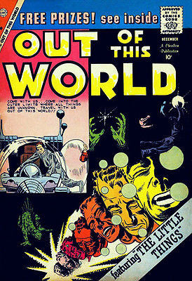 Out of This World #16 - December 1959 - Comic Book Cover Poster