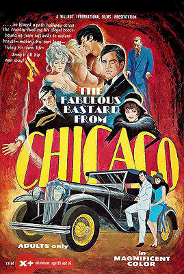 The Fabulous Bastard From Chicago - 1969 - Movie Poster