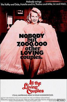 All The Loving Couples - 1969 - Movie Poster