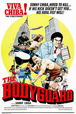 The Bodyguard - 1976 - Movie Poster