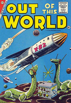 Out of This World #1 - August 1956 - Comic Book Cover Poster