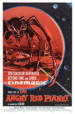 The Angry Red Planet - 1959 - Movie Poster