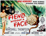Fiend Without A Face - 1958 - Movie Poster