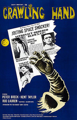 The Crawling Hand - 1963 - Movie Poster