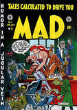 MAD Magazine #5 - June / July 1953 - Cover Poster