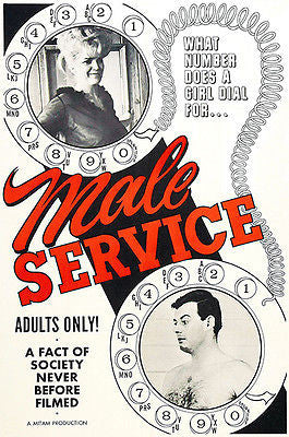 Male Service - 1966 - Movie Poster