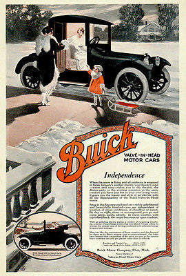 1916 Buick - Promotional Advertising Poster