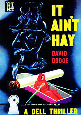 It Ain't Hay - 1946 - Pulp Novel Cover Poster