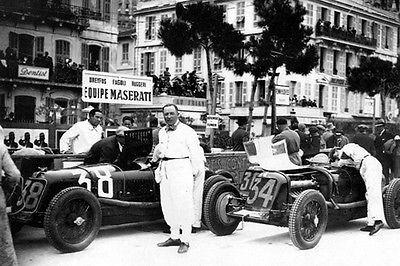 1932 Maserati 8C 2500 at Monaco Grand Prix - Formula 1 - Photo Mug