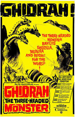 Ghidrah! - 1964 - Movie Poster