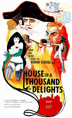 House of a Thousand Delights - 1973 - Movie Poster