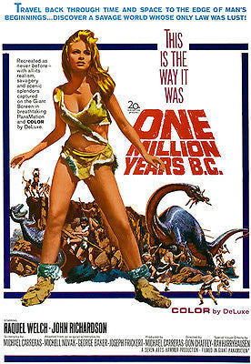 One Million Years B. C. - 1966 - Movie Poster