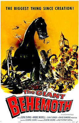 The Giant Behemoth - 1959 - Movie Poster