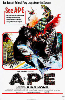 Ape - 1976 - Movie Poster