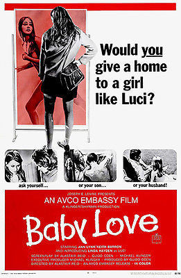 Baby Love - 1968 - Movie Poster