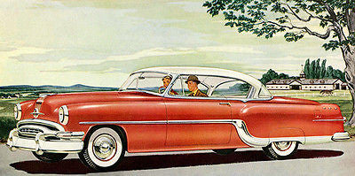 1954 Pontiac Starchief - Promotional Advertising Poster